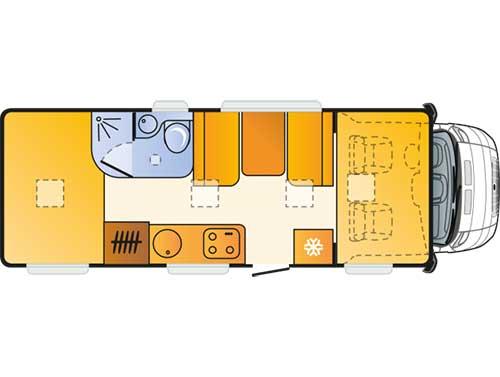 wohnmobil Sun Living Lido A 49 DP