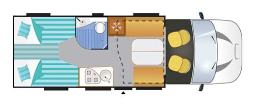 wohnmobil Challenger 347 Graphite