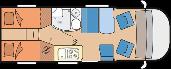 wohnmobil Hobby Free Living V65 GE