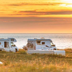 Camperplatz während Corona